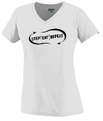 Step Eat Repeat Ladies Dri-Fit